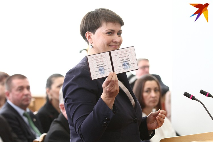 Татьяна Короткевич вошла в историю как первая женщина-кандидат в президенты.