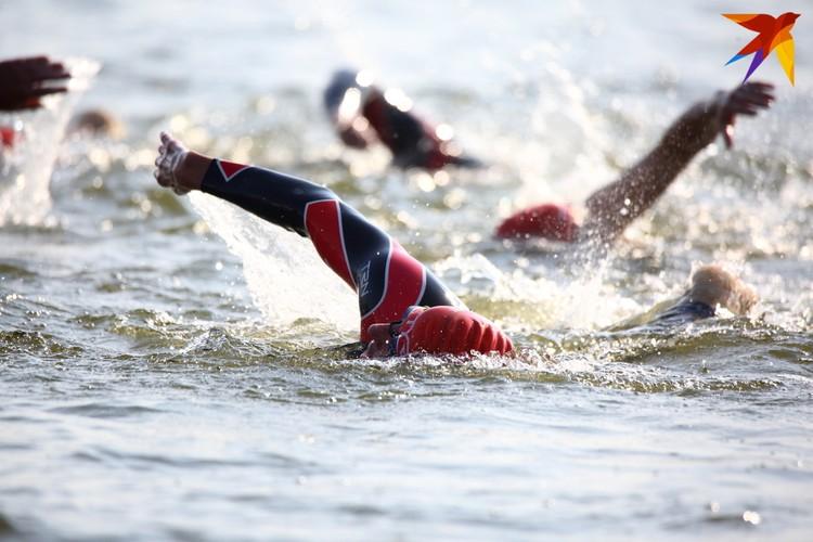 Плавание самый сложный этап, по мнению участников