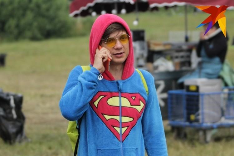 Был на фестивале и свой супермен