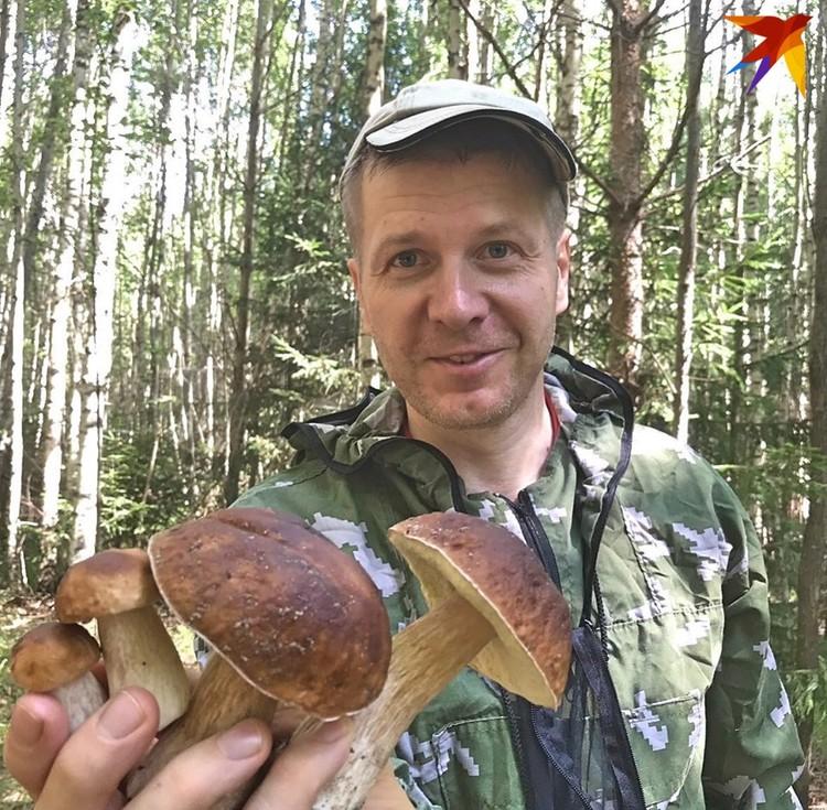 """В тверских лесах не только царь-грибы """"водятся"""", но и поменьше..."""