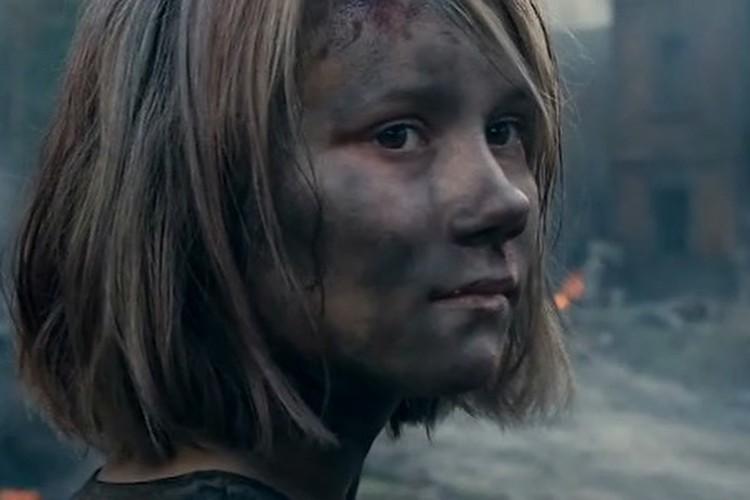 """Актриса Ника Никонова. Фото: кадр из фильма """"Брестская крепость""""."""