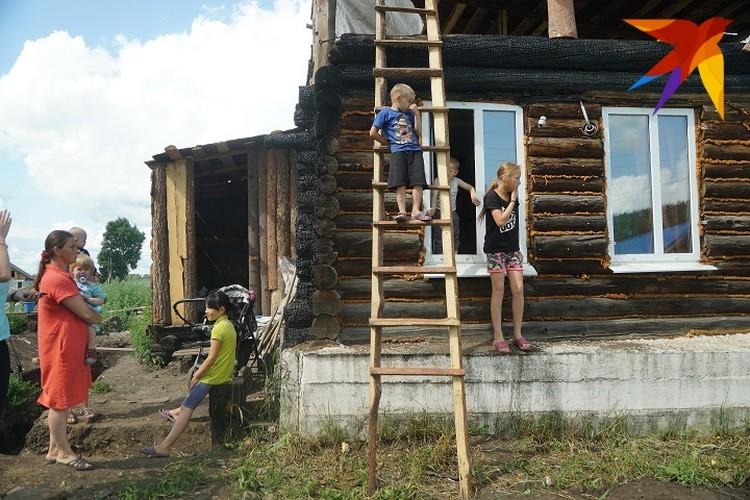 Светлана решила восстановить жилище.