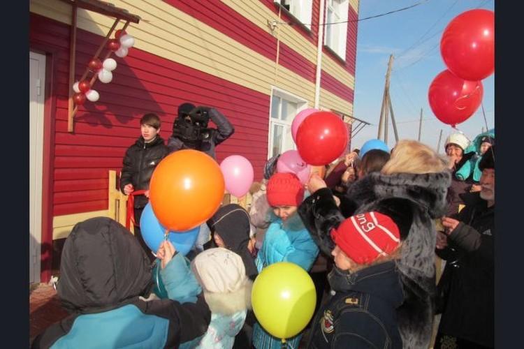То самое торжественное открытие детского сада в марте 2018 года. Фото: сайт Чановского района Новосибирской области.