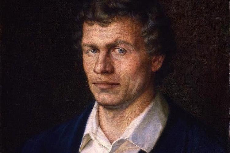 Портрет живописца Владимира Суздальцева. Фото: галерея народного художника СССР А.Шилова
