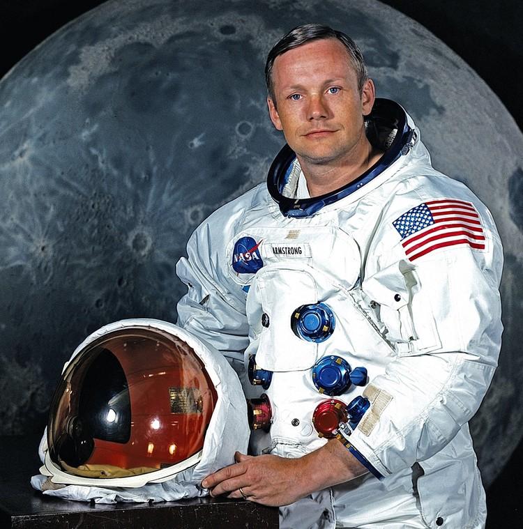 Астронавт Нил Армстронг в мае 1969 года.
