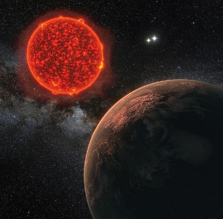 Ближайшая к нам экзопланета находится примерно в 4 световых годах от Солнца.