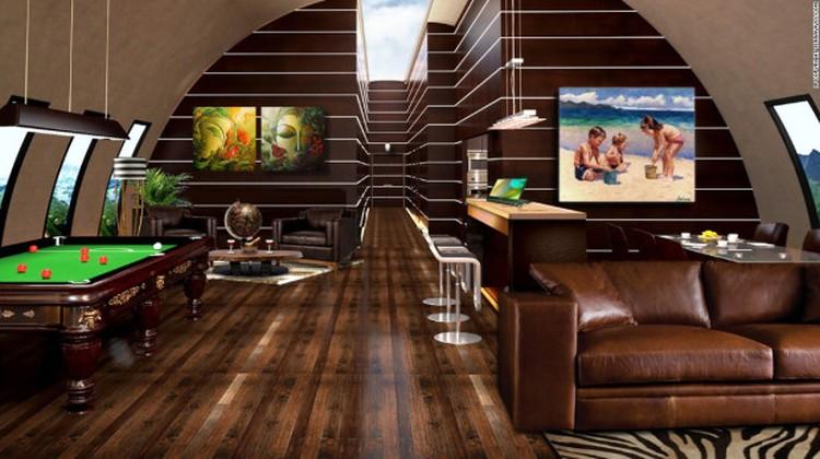 Оборудованы убежища не хуже элитных домов Фото: SurvivalCondo.com