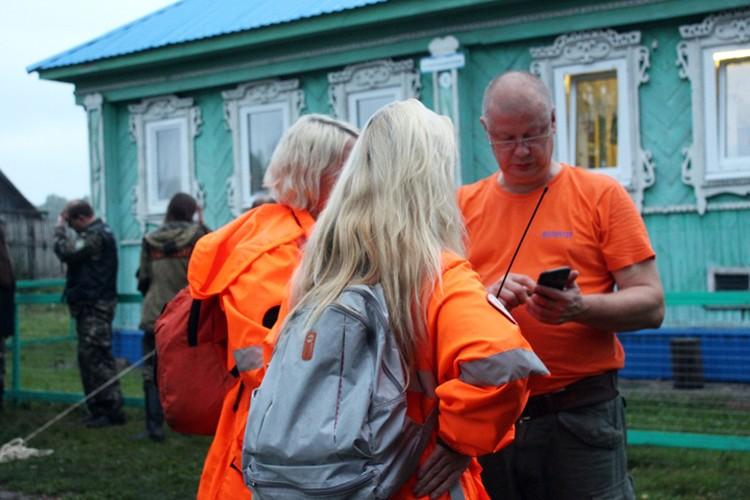 Сергей Шухрин во время поисков Зарины Авгоновой. Фото: Екатерина Кутейникова