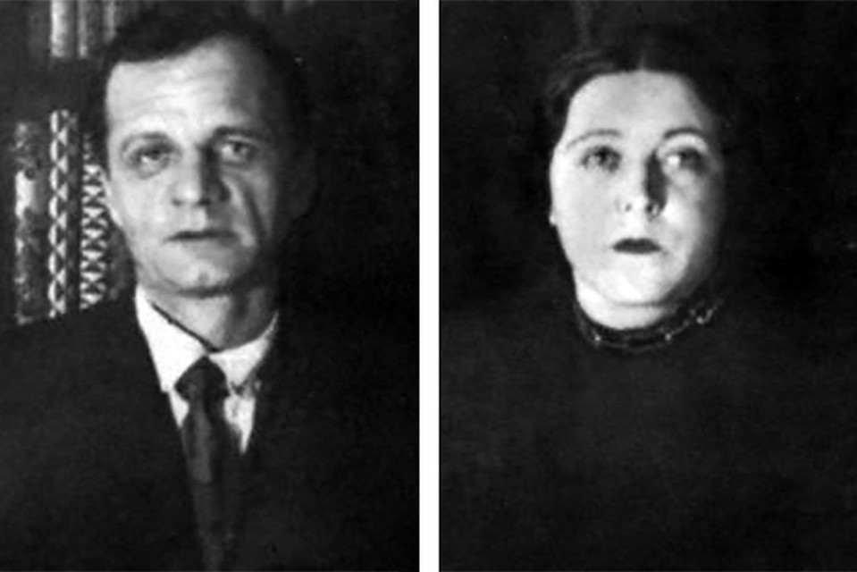 Андрей Платонов с женой Марией Кашинцевой