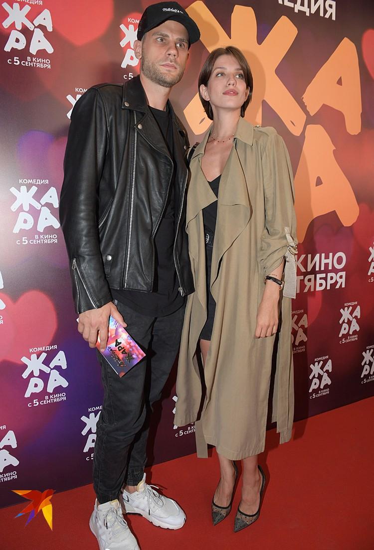 Анна Чиповская пришла со своим любимым мужчиной