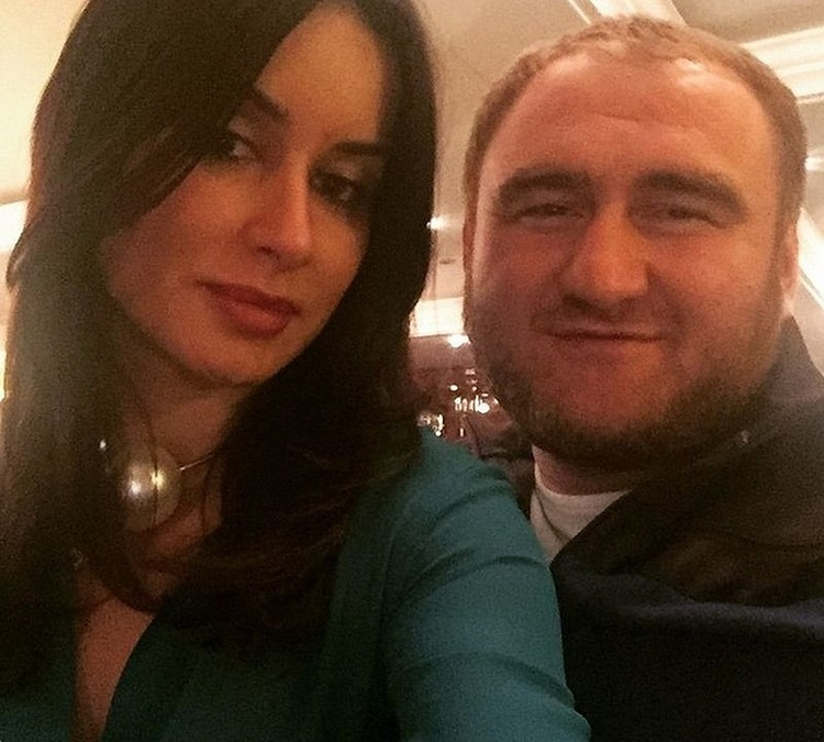Тина и Рауф Арашуков