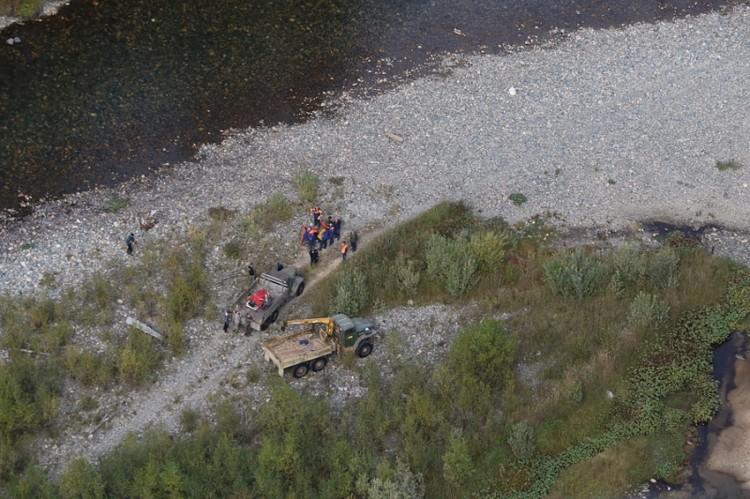 Товарищи сообщили: самостоятельное вывезти пострадавшего не смогут. Фото: МЧС Хакасии