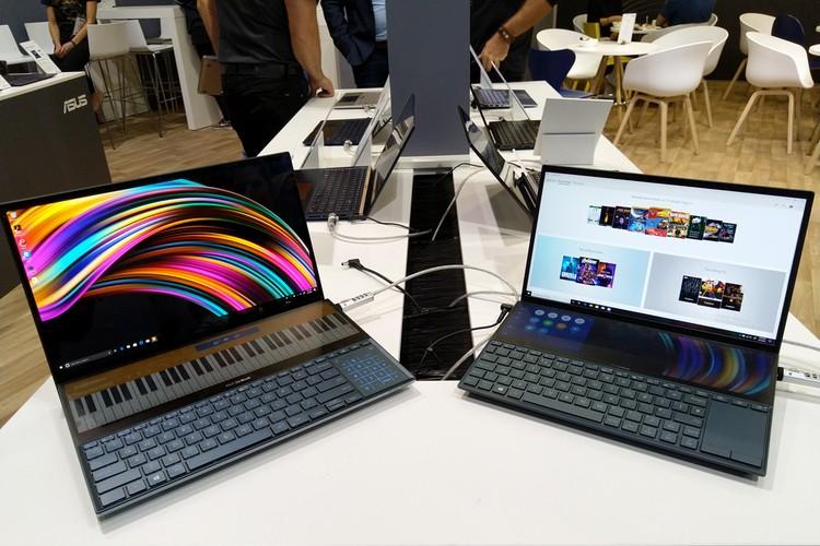 ASUS ZenBook Duo версии 15 и 14 дюймов