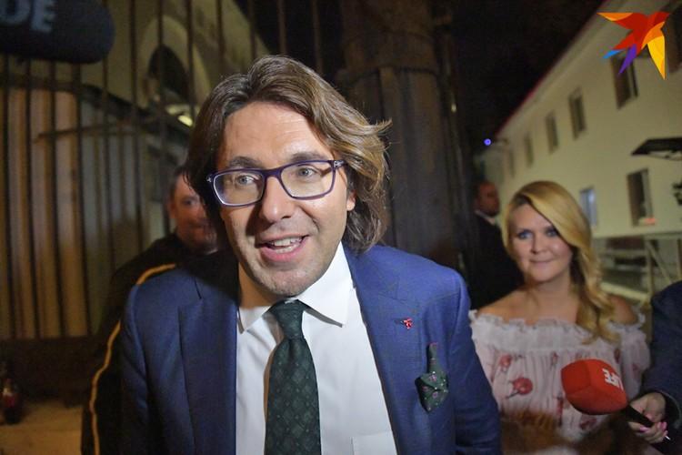 Андрей Малахов приехал на свадьбу.