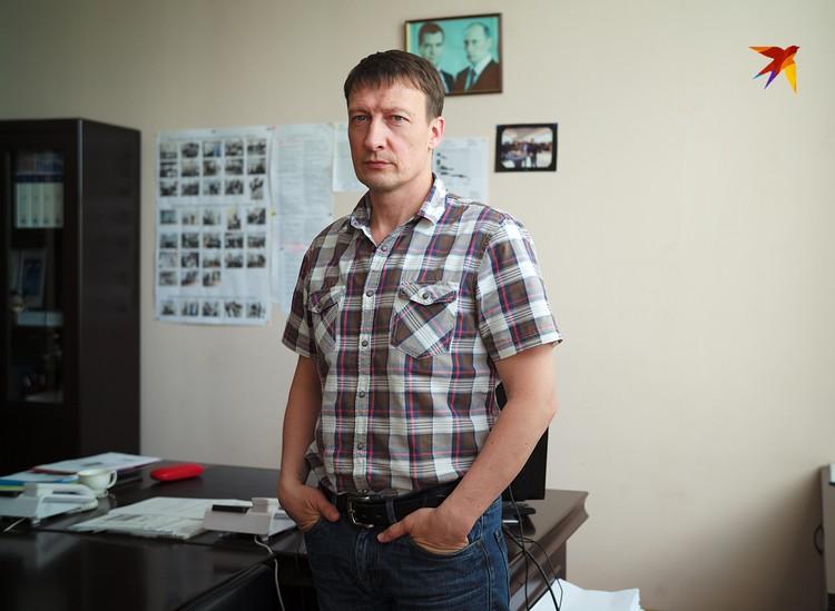 Заместитель генерального директора КМЗ по гражданской продукции Андрей Варфоломеев