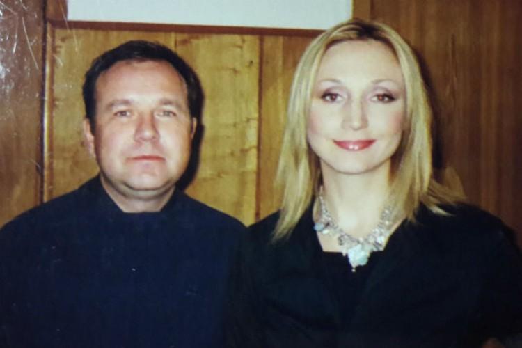 Начало 2000-х. Фото с молодой Кристиной Орбакайте. Фото: личный архив Сергея Лавцевича.