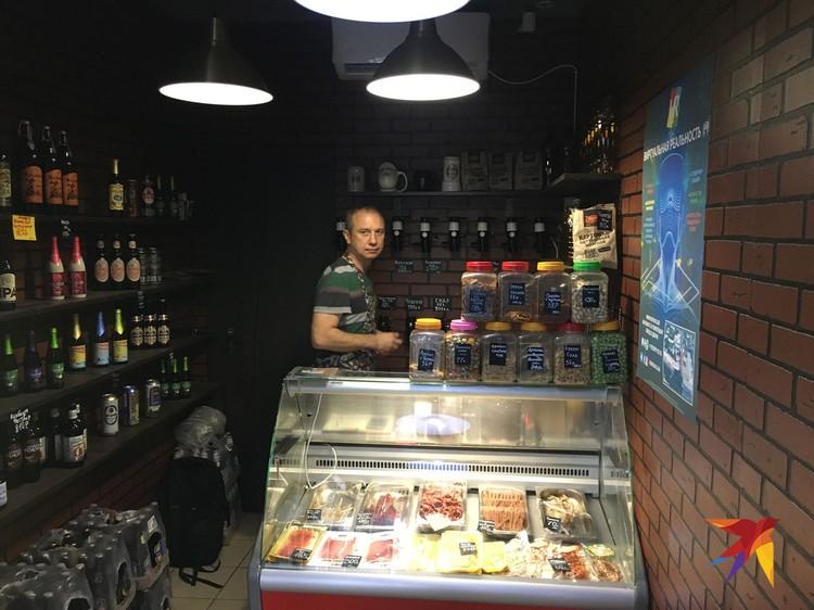 Индивидуальный предприниматель Дмитрий Малюга крайне приветлив.