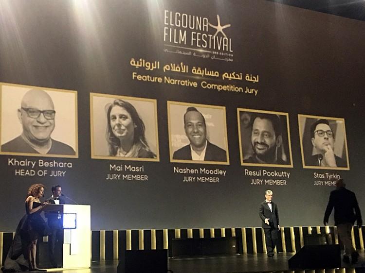 В египетском курортном городе Эль Гуна открылся международный кинофестиваль