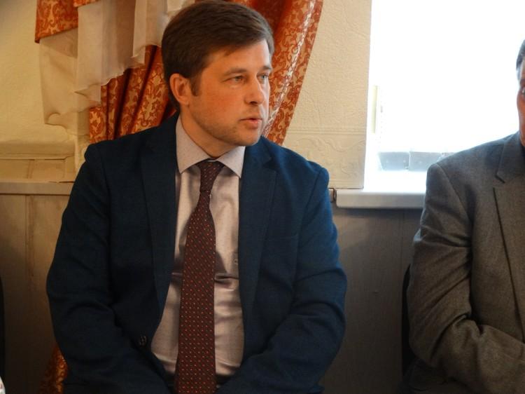 Директор Театра оперы и балета Дмитрий Степанов
