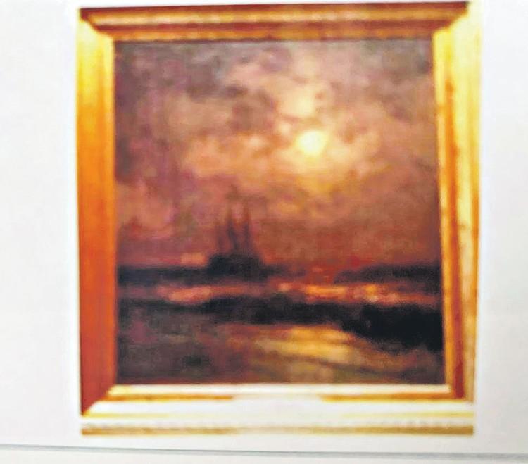 Эта работа Айвазовского «На море в лунную ночь» (холст, масло, размер 960 на 1280 см) - одна из самых дорогих в коллекции Петросяна. Фото: Личный архив