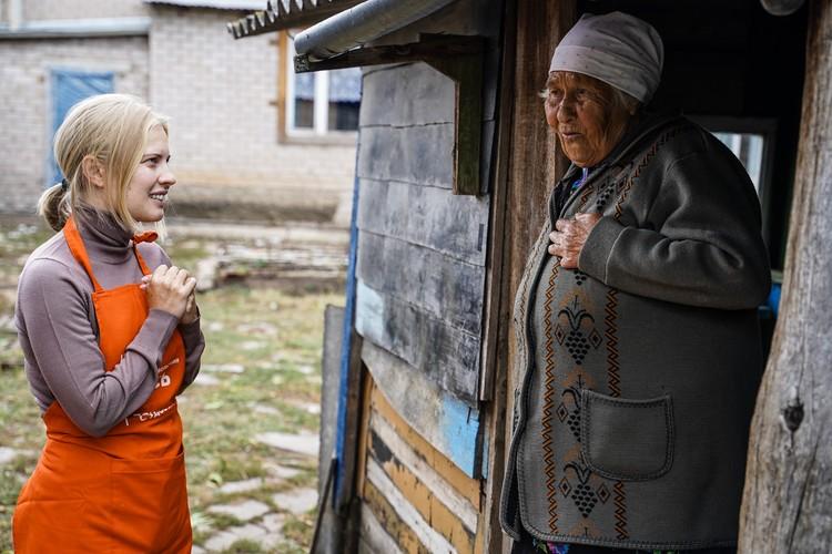 Неожиданны гости удивили Анна Кудряшеву.