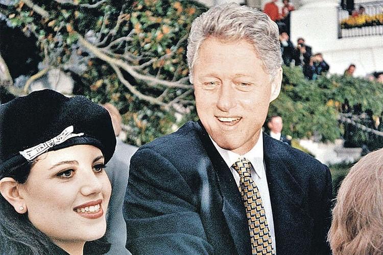 Клинтон, замаравший в Овальном кабинете платьице стажерки и чудом избежавший импичмента