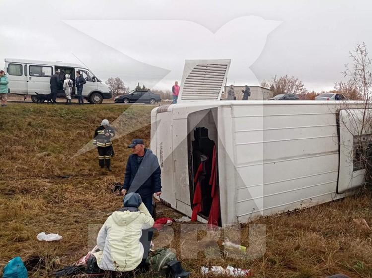 Пострадали около 15 человек. Фото: Источник КП