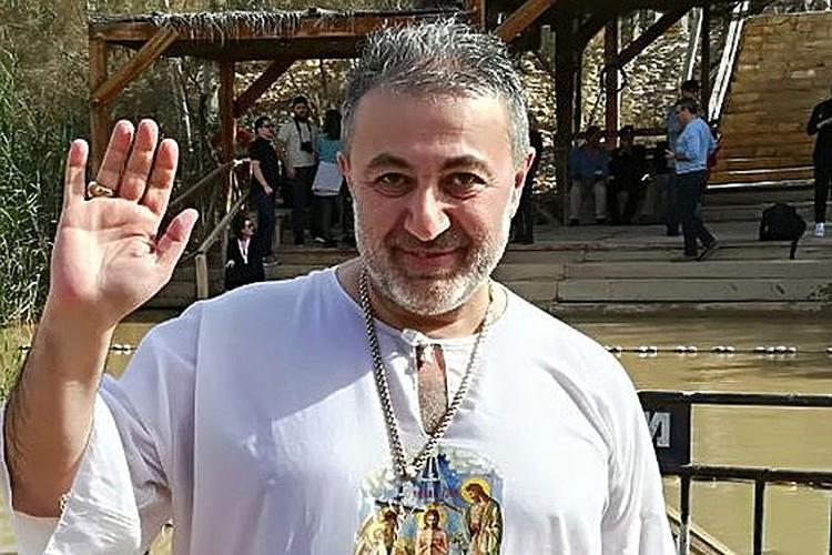 Убитый собственными дочками Михаил Хачатурян.