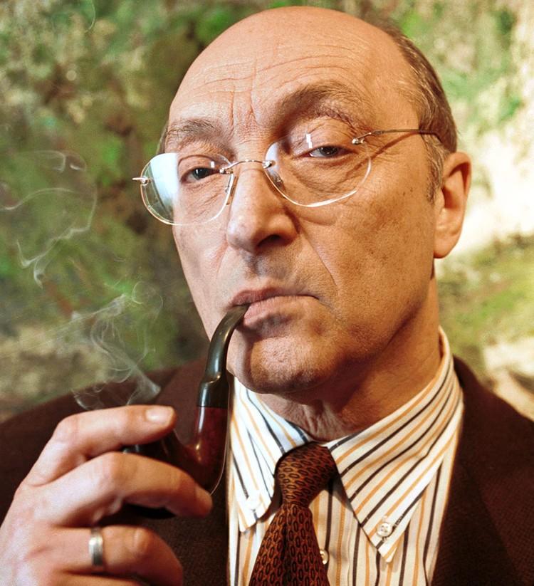 Актер и режиссер Михаил Козаков, 2000 год. Фото Виктора Великжанина (ИТАР-ТАСС)