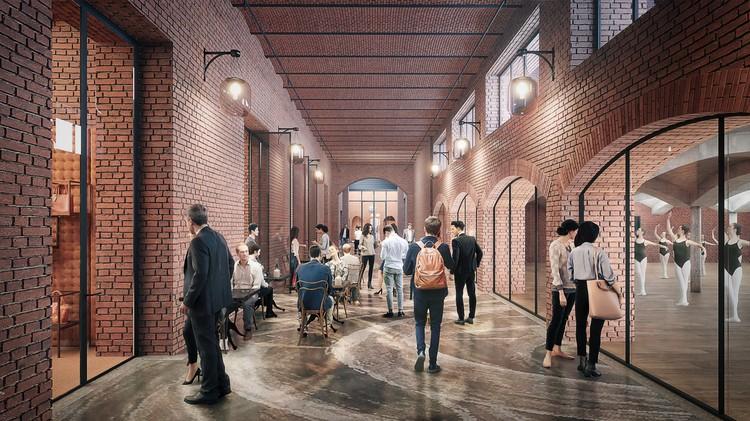 В отреставрированных корпусах разместятся общественная и социальная инфраструктура.
