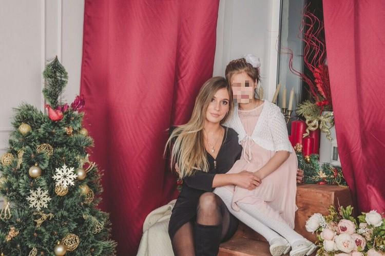 У Ксении есть маленькая дочка. Фото: СОЦСЕТИ