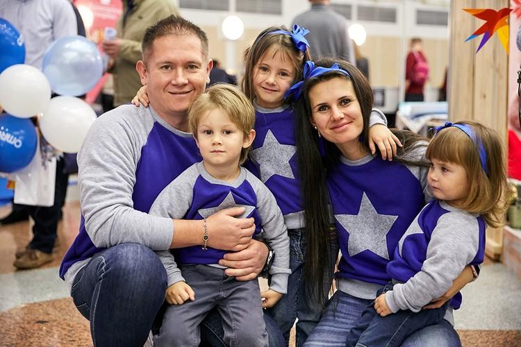 Семья Шмидт поучаствовали в показе фестиваля Family Look.