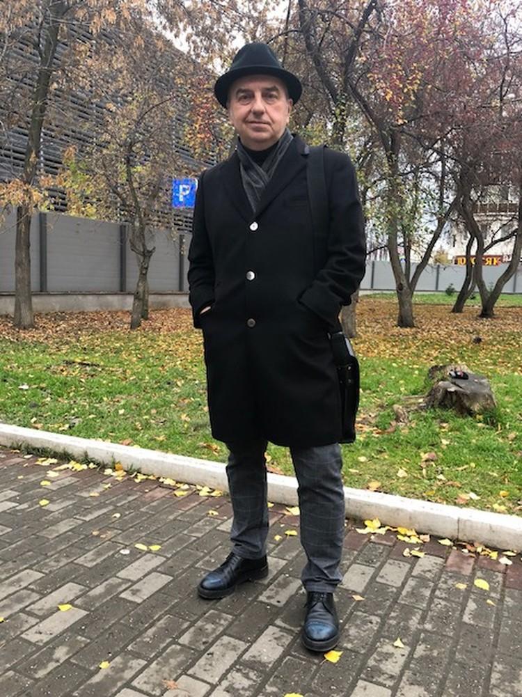 Владимир Шахрин выбрал площадку за Макаровским мостом.