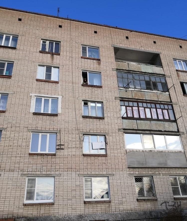 Пожар произошел на четвертом этаже. Фото: vk.com/«Троицк»