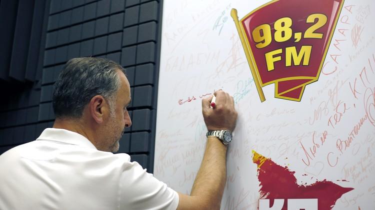 До «Крыльев» черногорский специалист возглавлял тульский «Арсенал».