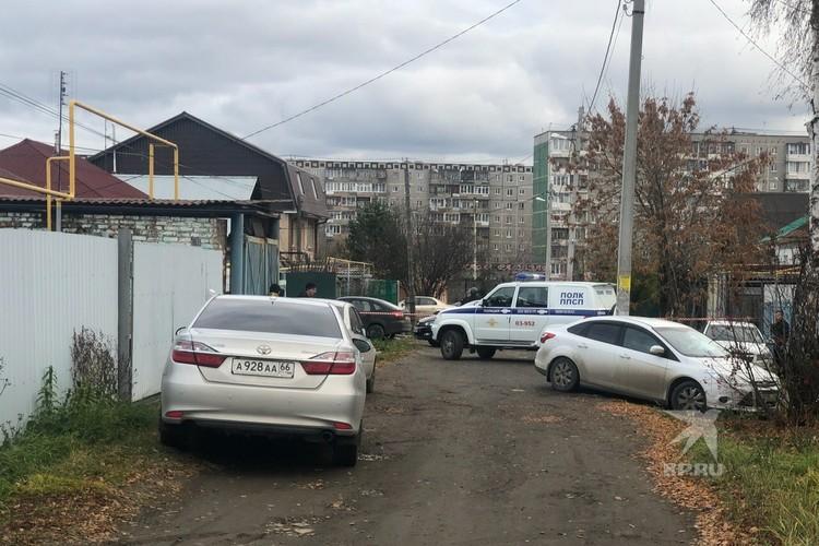 Обширная территория оцеплена полицией