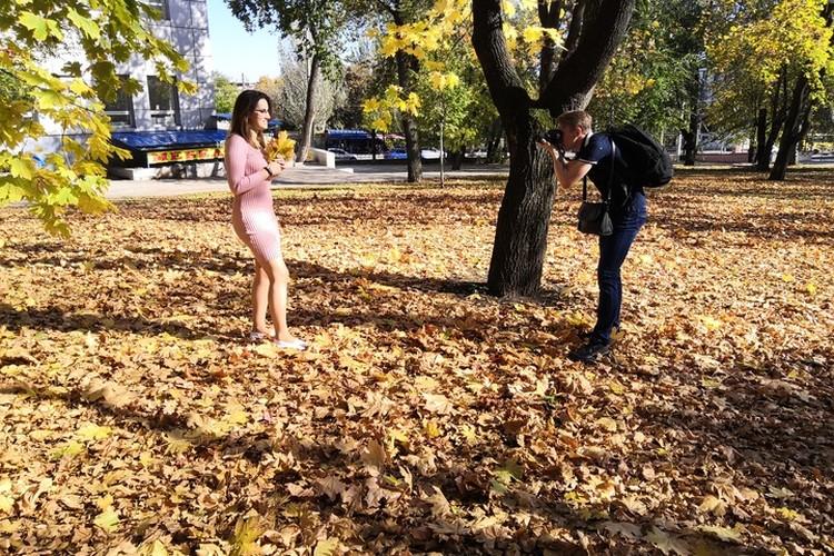 Во-вторых, осень - это неисчерпаемые фантазии для фотосессии.