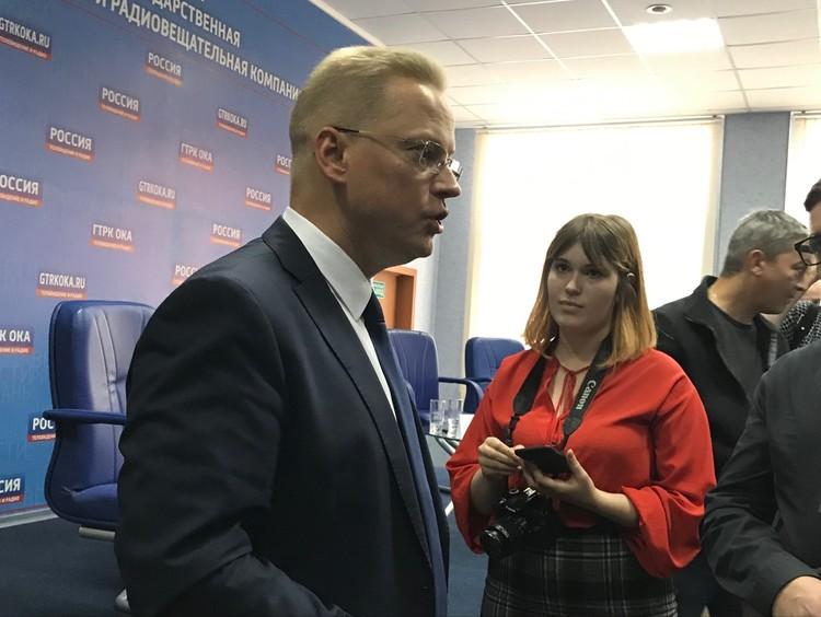 Поздравить победителей приехал российский журналист и телеведущий Эрнест Мацкявичюс.