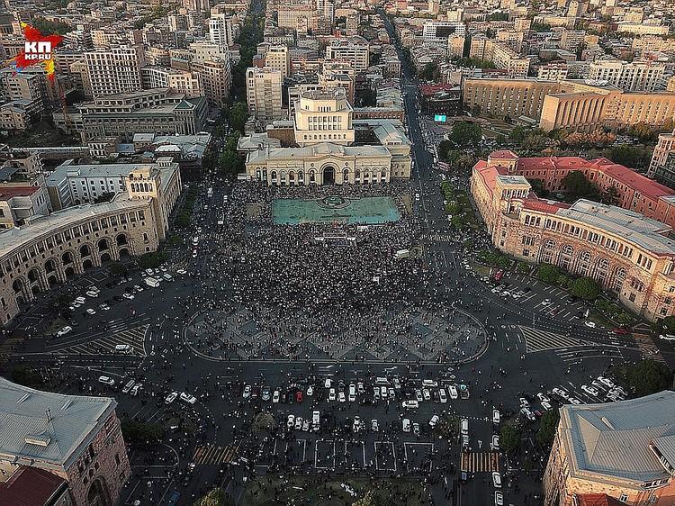 Ереванский майдан