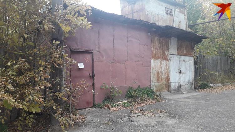 В этом гаражном массиве нашли тело Лизы Киселёвой