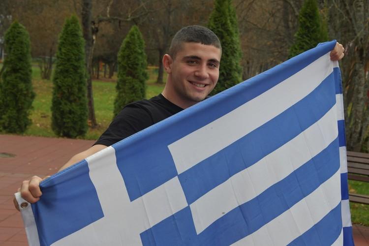 Грек Ефстафий Кариофилидис приехал в Подмосковье из Крыма.