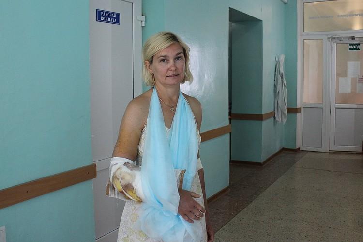 Ольга проходила лечение в симферопольской больнице