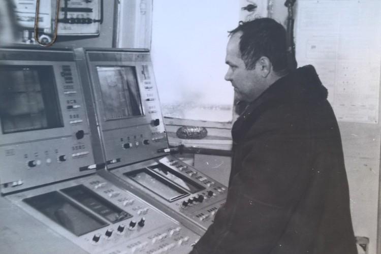 Капитан Виктор Юдин.