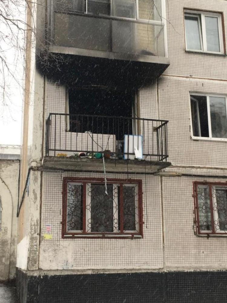 Балкон этой же квартиры - но с другой стороны дома.