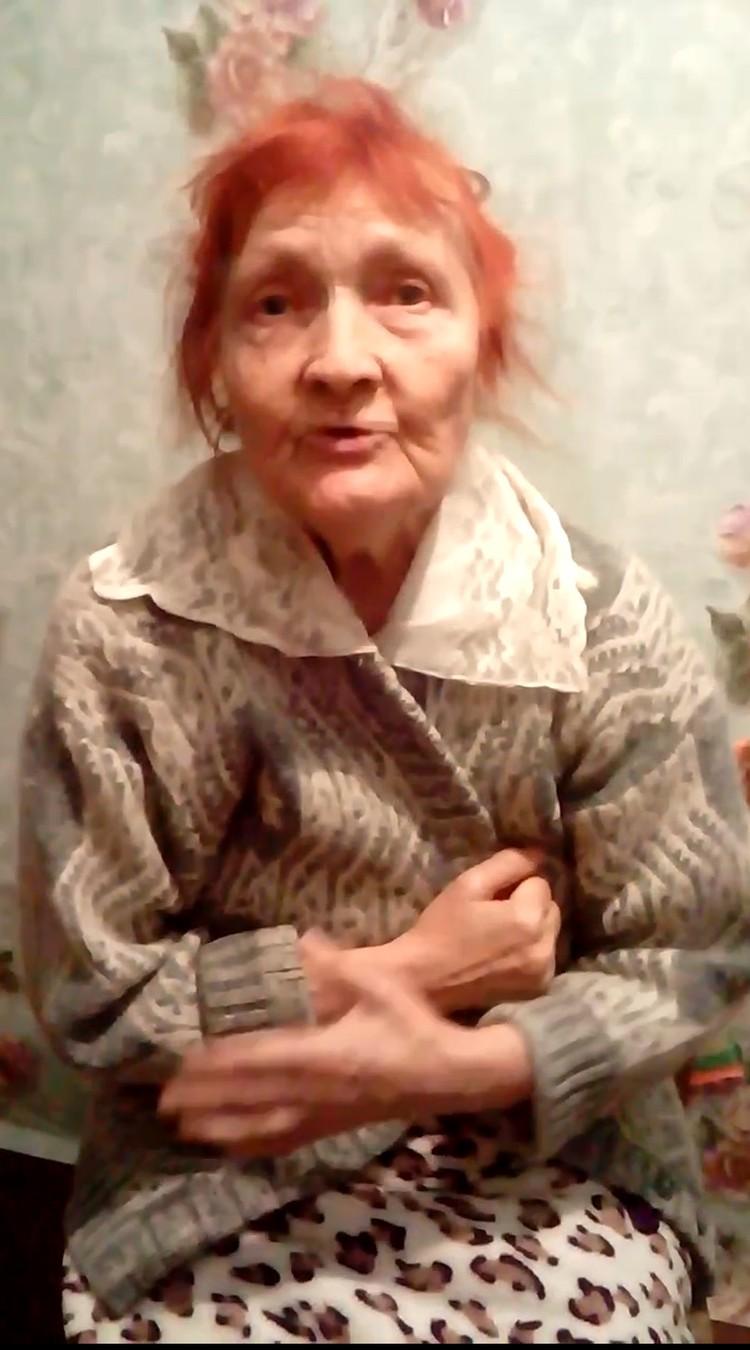 Надежде Алексеевне 81 год