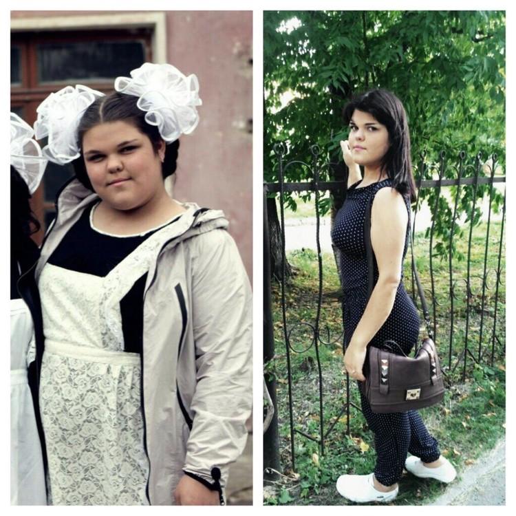 Только посмотрите, как Ева изменилась! Фото: личный архив.