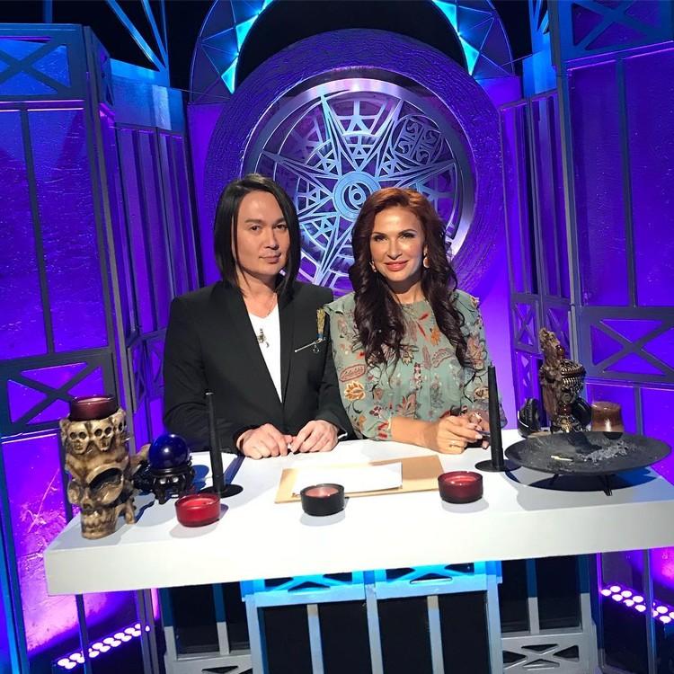 Дардо Кусто с Эвелиной Бледанс. Фото: Канал ТВ-3