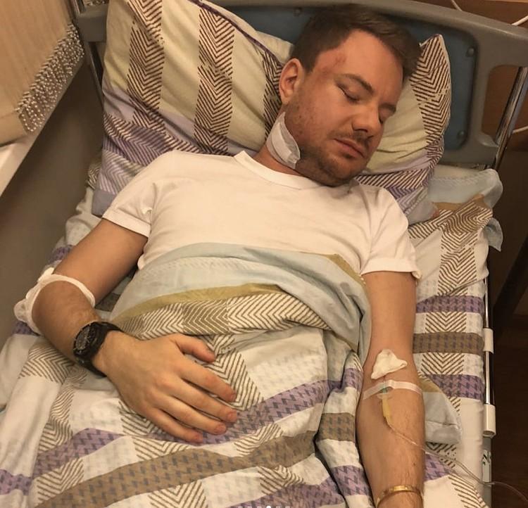 DJ Smash в больнице. Фото: соцсети
