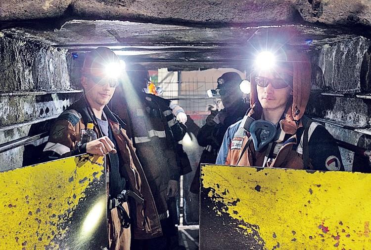 В то время, как люди покидают Заполярье, в шахтах не хватает горняков. Фото: Предоставлено пресс-службой «Воркутауголь».
