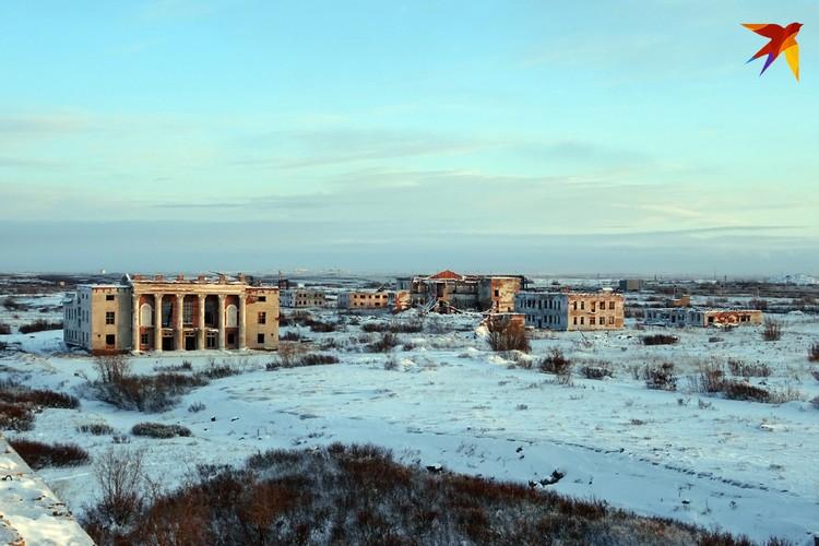 Иные воркутинские поселки, как, например, Промышленный, давно превратились в поселки-призраки.